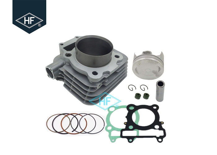 4 Stroke Air Cooled Motorcycle Cylinder Kit For Yamaha YBR250 74mm Bore Size