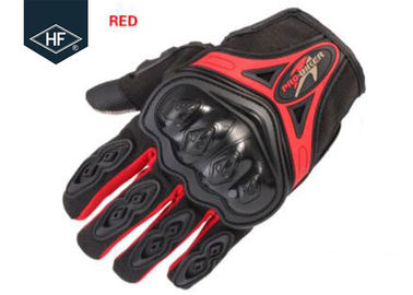 Phụ kiện đi xe máy Aftermarket Red Blue Touch Finger Full Finger Motorcycle Găng tay